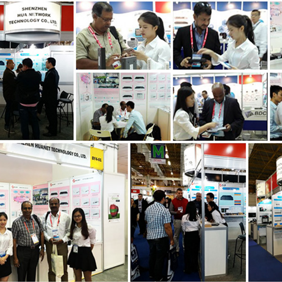 HUANET attended the CommunicAsia Exhibition